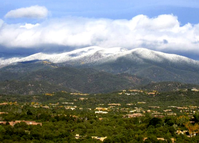 Santa Fe mountains